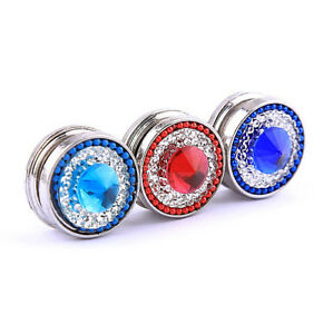 A Grade Crystal Magnetic Brooch/Pin - Double Sided Magnet - UK Seller