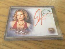 Buffy Women Of Sunnydale autograph card - Emma Caulfield as Anya