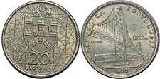 PORTUGAL 20 ESCUDOS 1966 KM#592  SILVER0.650