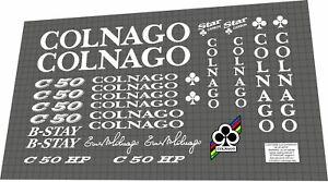 COLNAGO C50 HP 2004 Frame Sticker / Decal Set