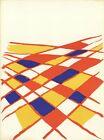 ALEXANDER CALDER DLM no. 190 page 4 15 x 11 Lithograph 1971 Surrealism