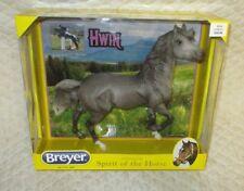 "BREYER HORSE - 2017 ""HWIN"" Dappled Grey Mustang Horse - Brand NEW - NO RESERVE"