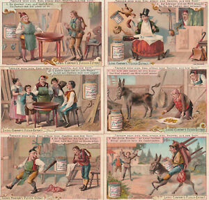 Original Liebigbilder Serie Nr.259 von 1893 Tischlein deck dich - guter Zustand