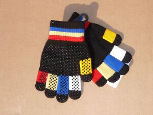 Handschuhe Reithandschuhe  HKM superelastic dehnt sich über 3 Größen 4 - 7