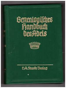 Genealogisches Handbuch des Adels GRÄFLICHE HÄUSER, Band XIV, 1993, Band 105