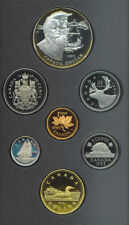 1995 Canada Double Dollar $1 Proof Coin Set COA BOX