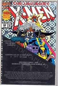 Comics The Uncanny X-Men issue #300 Signed by John Romita, Jr.,W/COA
