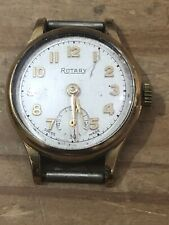 Rotary Gold Plated Vintage Swiss Wind Up Sub Second Watch Ladies