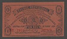 Peru 1 Sol 1921; AU+; P-S604; Indian