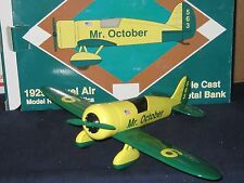REGGIE JACKSON MR. OCTOBER 1929 TRAVEL AIR MODEL R BANK REPLICA LIMITED EDITION