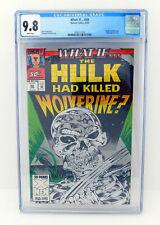 WHAT IF? #50 CGC 9.8 HULK / WOLVERINE Embossed Foil
