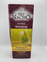 Tío Nacho 14oz Ginseng Shampoo with Royal Jelly— Reduces Hair Loss