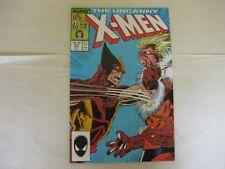 UNCANNY X-MEN # 222 - WOLVERINE VERSUS SABRETOOTH - VF+ 8.5