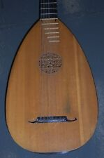 *RENAISSANCE LUTE MAGNIFICENT SOUND MADE BY LUTHIER A LITTO 1969 NYC PICKUP*