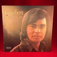 ENGELBERT HUMPERDINCK King Of Hearts 1973 UK VINYL LP EXCELLENT CONDITION