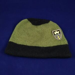 Rome Snowboards Badge Beanie Winter Hat Green and Black