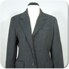 TALBOTS Women's Gray Wool Blazer/Jacket, Two Buttons, Lined size 8
