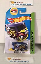 Volkswagen Kool Kombi #201 * BLUE * 2014 Hot Wheels * Y1
