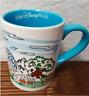 Walt Disney World Four Parks Coffee Mug Icons Castle Tower Terror Epcot Center