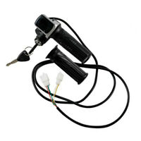 Scooter 36V Motor Brushed Speed Controller Throttle Grip E-Bike Black Replace