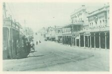 G0623 New Zealand - New Plymouth - Avenue Victoria - Stampa d'epoca - 1926 print