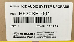 2017- 2020 Subaru iMPREZA Rockford Fosgate Audio Speaker & Amp Upgrade GENUINE