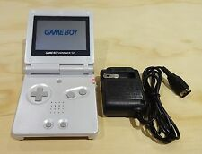 Nintendo Game Boy Advance GBA SP System Pearl White AGS 001 MINT NEW