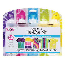 ULTIMATE One Step TIE DYE KIT  Enough for 30 Projects  TULIP