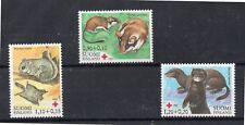 Finlandia Cruz Roja Fauna Serie del año 1982 (DI-547)