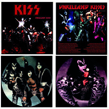 KISS - UNRELEASED KISSES - LIMITED PICTURE VINYL LP - LIMITED TO 300 COPIES