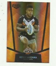 2015 NRL Elite Parallel Gold WESTS TIGERS KEVIN NAIQAMA PS140 CARD FREE POST