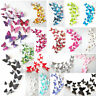 New 3D DIY 12PCS Multi-Color Butterfly Wall Sticker Home Wedding Room Art Decor