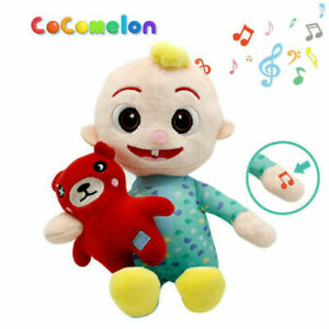 Cocomelon JJ Boy Stuffed Musical Doll Plush Toy Educational Easter Gift