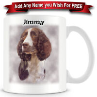 Springer Spaniel - Dog Ceramic Coffee Mug - Personalise for free
