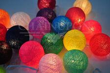 20 multicolore parti boule,patio,fées,décor,mariage guirlandes lumineuses