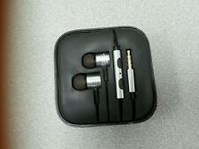 Brand New Gold Piston Style personal in-ear earphone for  Apple Samsung