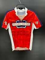 Pearl Izumi Mens Size L Large Red Cycling Jersey Top Athletic Top