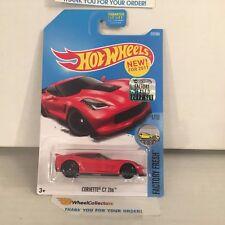 Corvette C7 Z06 #217 * RED * 2017 Hot Wheels FACTORY SET * HG8