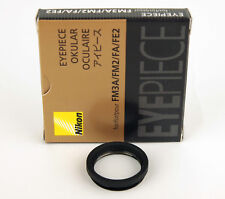 Nikon okularschutzglas eyapiece para Nikon FE, fe2, FM, fm2, fm3a, FA
