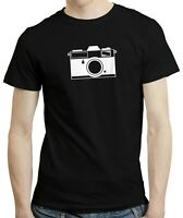 Camera Hobby Photography Photographer Retro Film Gift T shirt Tshirt Top