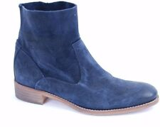 Ab Donkers Women's Vero Cuoio Ankle Leather Boots Navy Size UK 6 BCF511