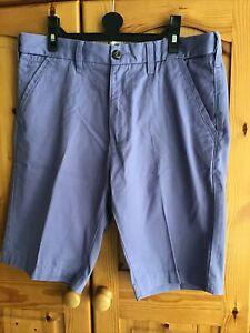 Men's Chino Shorts Cotton Summer Knee Length 32 Waist Good Condition