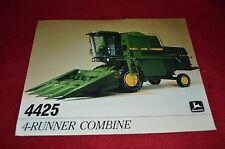 John Deere 4425 Combine Dealer's Brochure Harv. Pub. 85-07 Lcoh