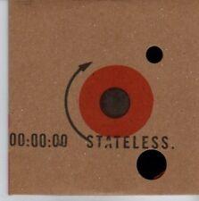(DE338) Stateless, Down Here - 2004 DJ CD