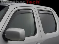 WeatherTech Side Window Deflectors - Honda Ridgeline - 2006-2014 - Light Tint