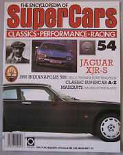 SUPERCARS magazine Issue 54 Featuring Jaguar XJR-S cutaway & poster, Maserati