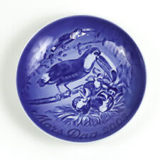 Bing & Grondahl 2008 Mother's Day Collectors Plate, Mors Dag, Toucan and Young