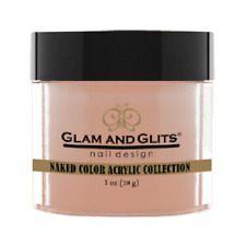 Glam and Glits Acrylic Powder - Naked Color Collection 1 OZ - Pick 1