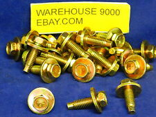 25 Hex Head Sems Body Bolts Auveco #17035 Ford : 384931-S36 and Universal Use