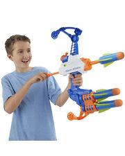 Nerf SUPER POROSI Pistola Acqua Blaster ARCO FRECCIA TORPEDO Freccette Tiratore Kids B4440
